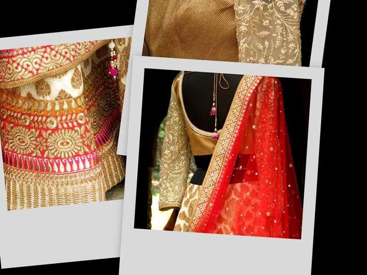 Tmx 1464223399724 Red Gold3 Herndon, District Of Columbia wedding dress