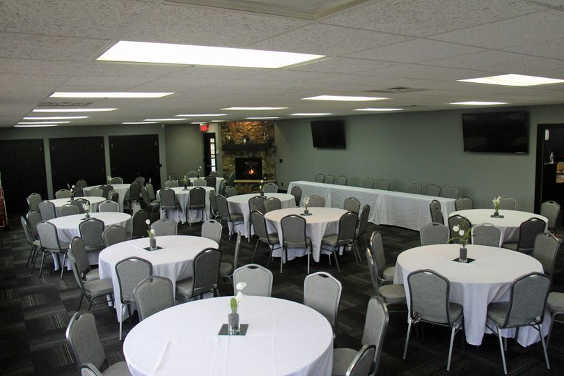 Perfect for an intimate reception or bridal shower