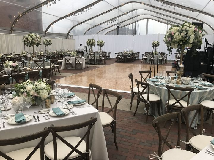 Courtyard - Tented Reception