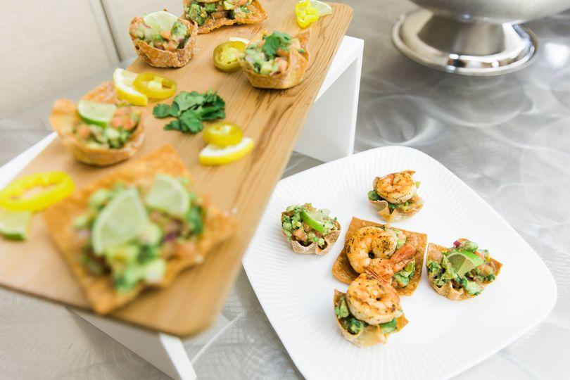 Avocado shrimp cups