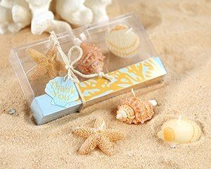 Let your guests take the beachside theme of your special day home with these adorable seaside...