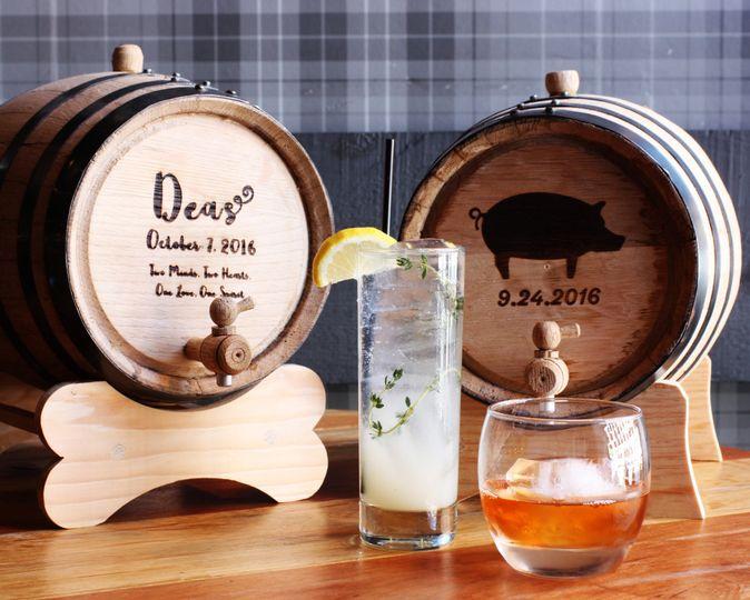 Barrel-Aged Spirits & Cocktail