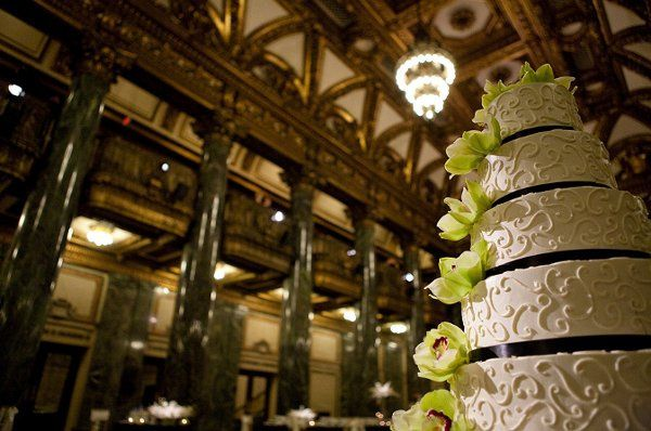 Cake at the Carnegie Museum Music Hall Foyer