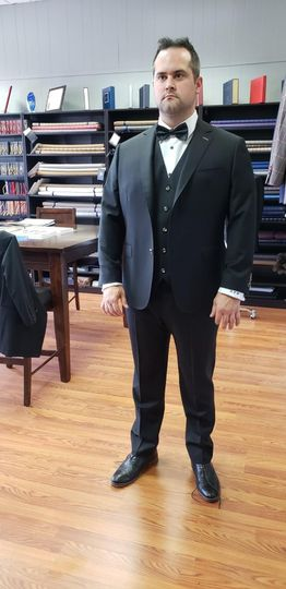 Custom formal suit