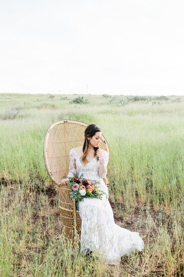 Material Girl Weddings chair