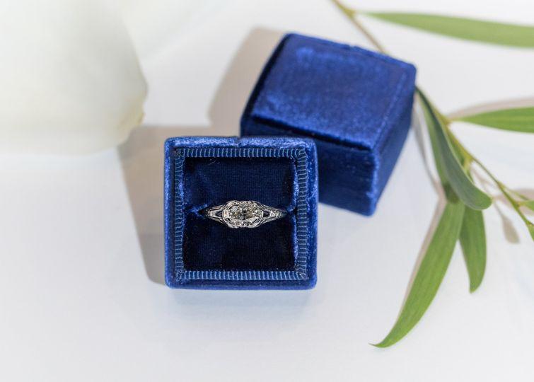 Antique Diamond & Sapphire
