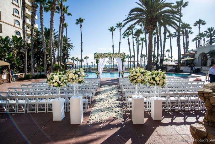 Pool Deck Ceremony