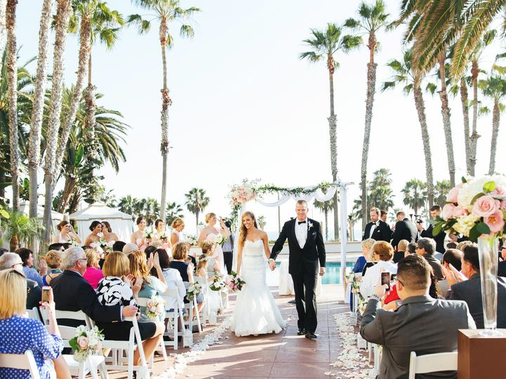 Tmx 1448053705556 Pool Deck Ceremony 21 Huntington Beach, CA wedding venue