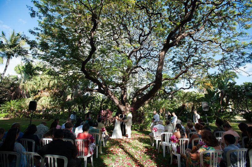 Hale Koa- Maile Garden
