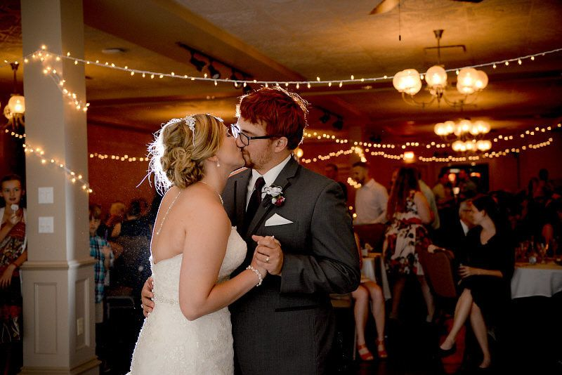Couple kissing | Photo by: Digital Galleria Designs