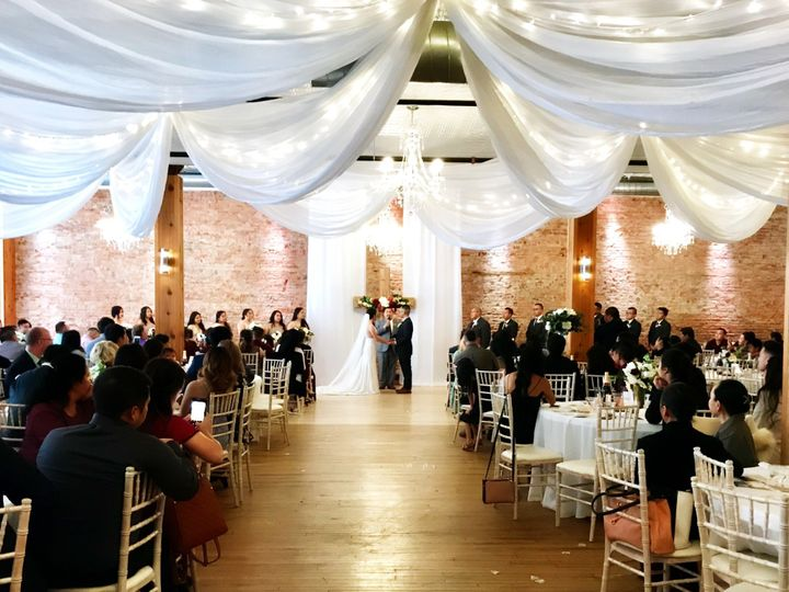 Tmx Ceremony With Vertical Drape 51 981019 1568129303 Faribault, MN wedding venue