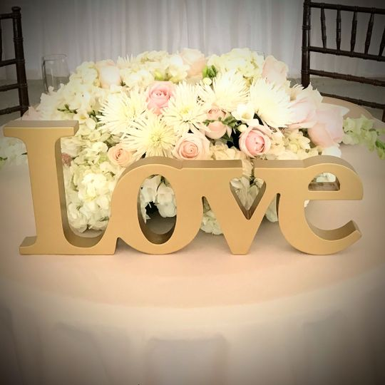 Love and flowers