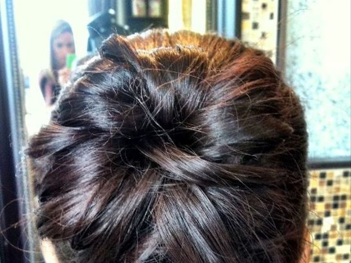 Tmx 1446438594799 Updo 8 Boston, MA wedding beauty