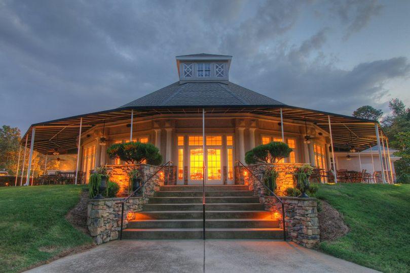 A bright reception venue