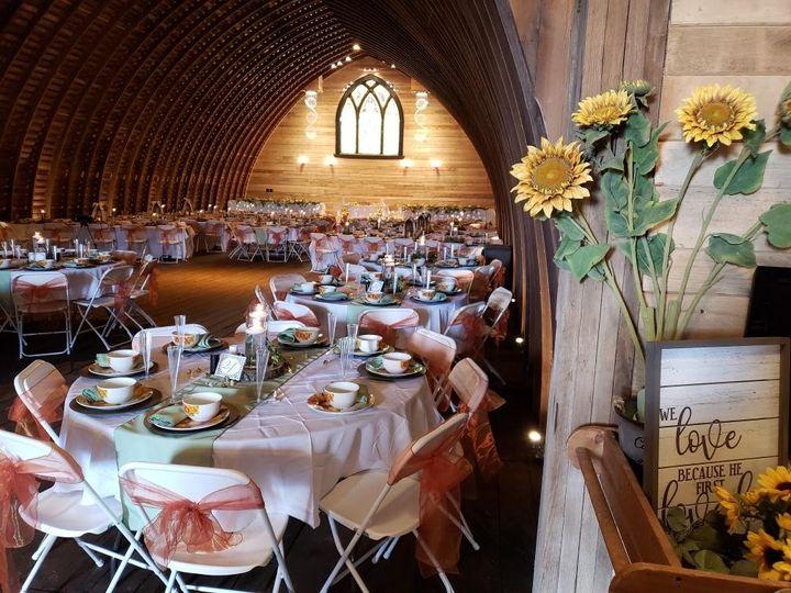 Lovely farm-style decor