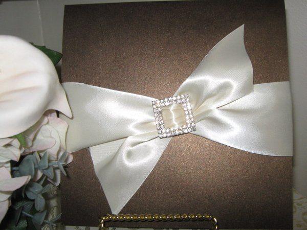 Big white bow