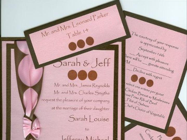 Tmx 1214407650240 POLKADOTSfinal Canton, MI wedding invitation
