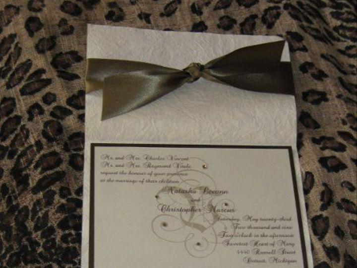 Tmx 1242707156878 Natasha Canton, MI wedding invitation