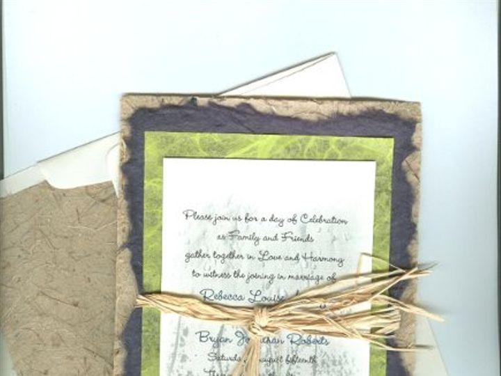 Tmx 1295326502339 Beadsraffia001 Canton, MI wedding invitation