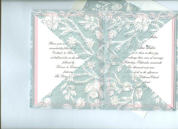 Tmx 1295326536511 SilkenFoldsInside001 Canton, MI wedding invitation
