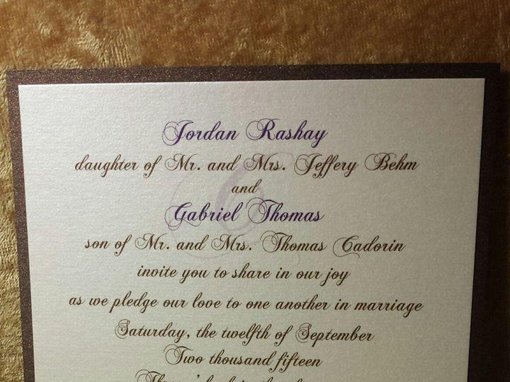 Tmx 1455842560170 Harley Davidson Invite Canton, MI wedding invitation