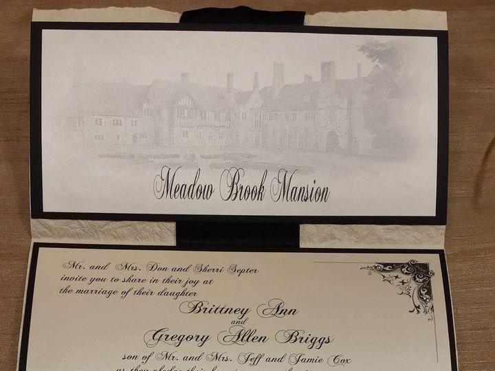 Tmx 1455842826632 Meadowbrook Mansion Canton, MI wedding invitation