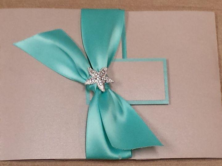 Tmx 1455842874539 Ocean Breeze Canton, MI wedding invitation