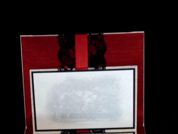 Tmx 1490234055586 Folio Inside Canton, MI wedding invitation