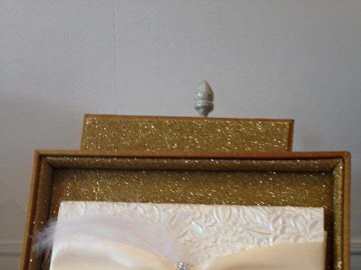 Tmx 1490234162349 Gorgeous Glitter Canton, MI wedding invitation