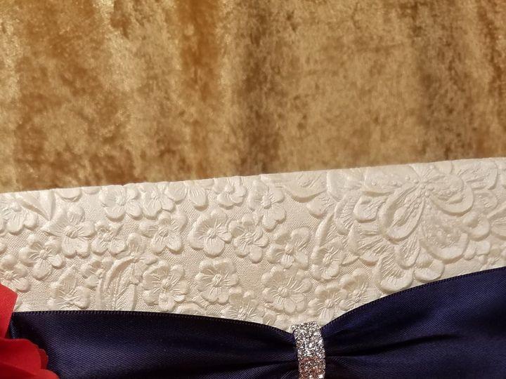 Tmx 1532230978 69f3f97937e813ff 1532230975 B3f7301075c40487 1532230930060 6 Ivory Embossed Flo Canton, MI wedding invitation