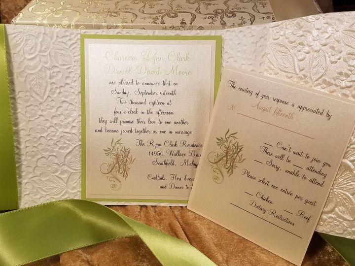 Tmx 1532231107 1572203d22c766b8 1532231104 6828024ab6ca9bbf 1532231065155 10 Mini Tri Inside Canton, MI wedding invitation