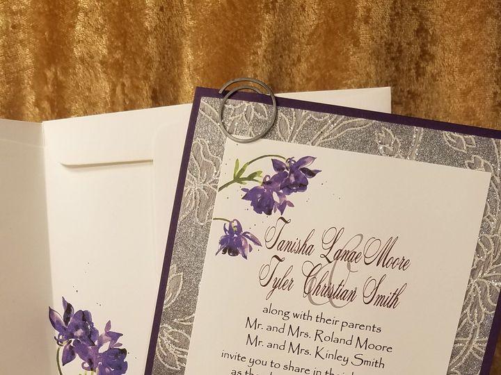 Tmx 1532231108 17c891aa9476aba4 1532231105 7374087843a94fb9 1532231065158 11 Purple Haze Canton, MI wedding invitation