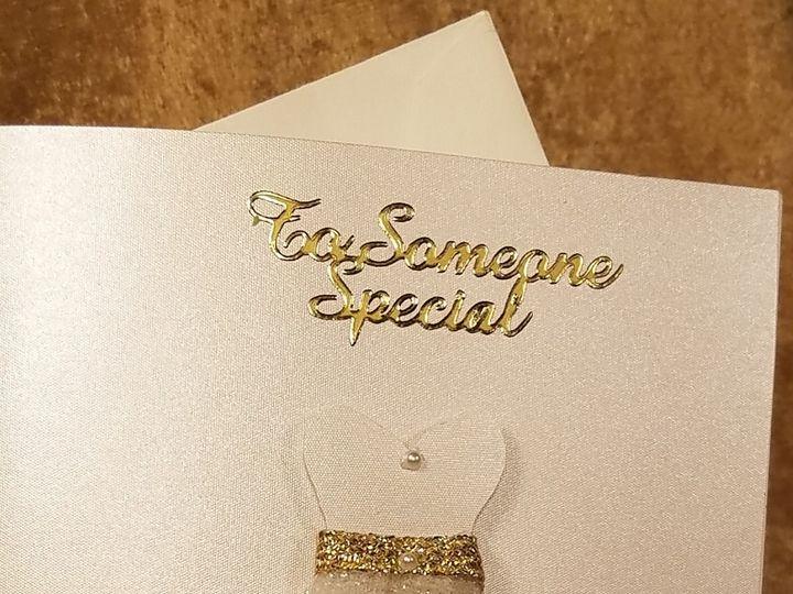 Tmx 1532231374 4dfc271b74c35ab4 1532231371 E24d109c6120bffb 1532231323538 14 Specialty Cards Canton, MI wedding invitation
