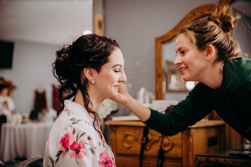 Makeup touch-ups