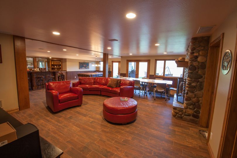 Main lodge lower level