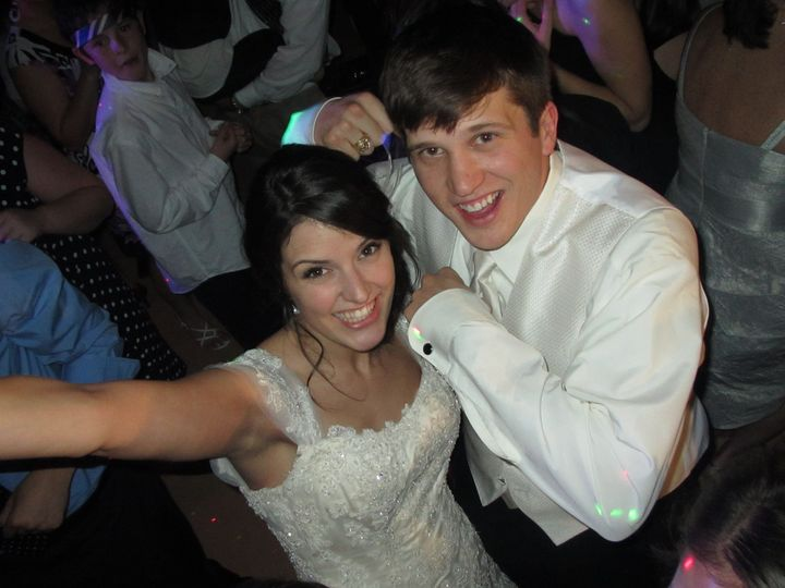 Dallas Wedding DJ's -Happy Couple