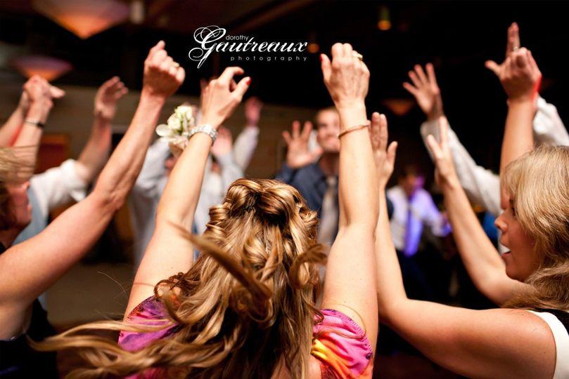 Dallas Wedding DJ's -hands up