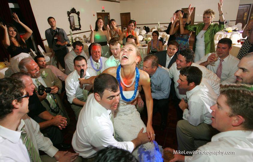 Dallas Wedding DJ -fun wedding