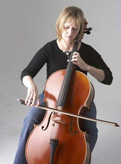 terri with cello