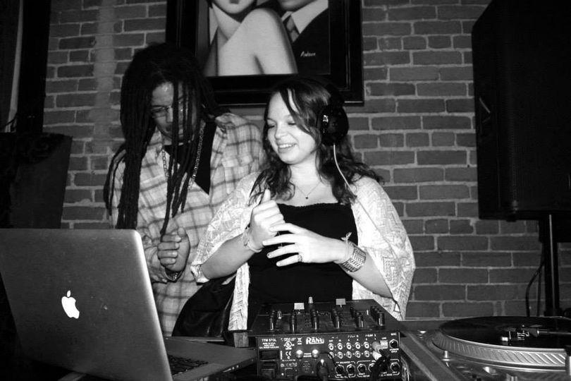 DJ Burt Blackarach with guests