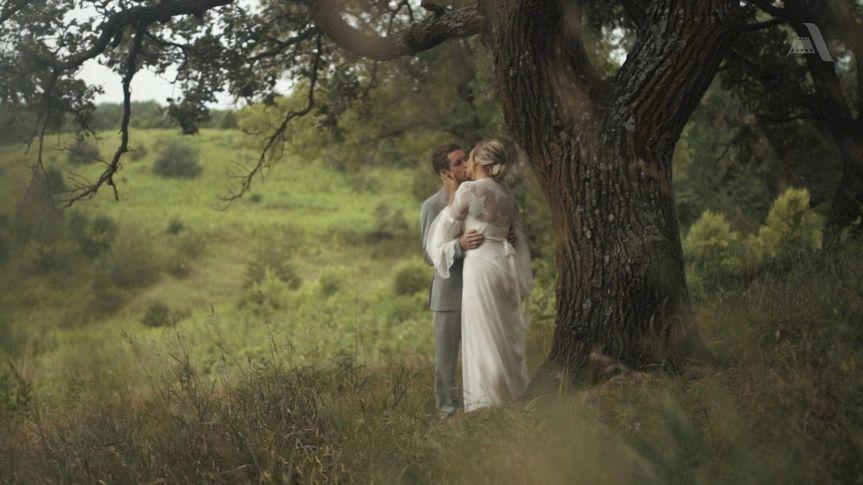 Almquist Farm Wedding - True Love's Embrace