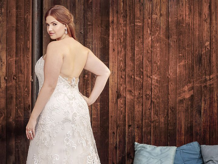 Tmx 1508522845620 Bl261cback Tulsa, Oklahoma wedding dress