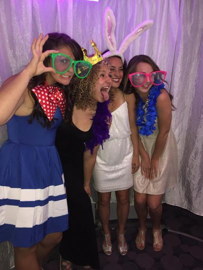 People LOVE our Photo booth!