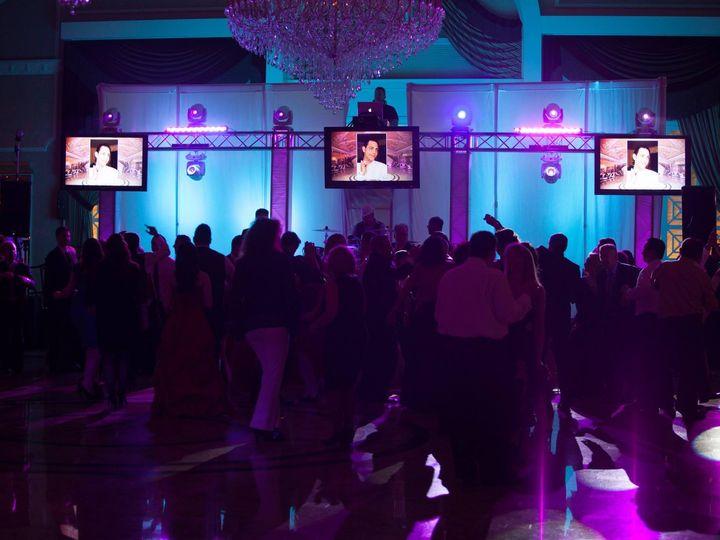 Tmx 1482348271624 Raised Dj With Crowd  Venetian Manalapan, NJ wedding dj