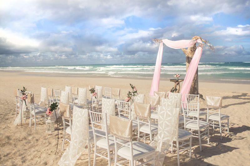 Lovely wedding setup