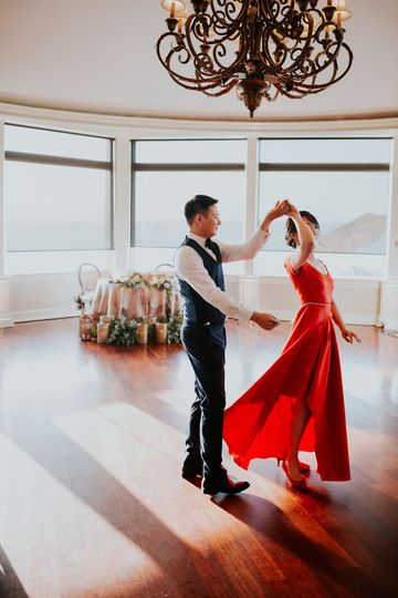First Dance at Oceancliff