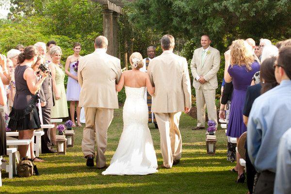 Garden Wedding Ceremony - The Bride's Grand Entrance