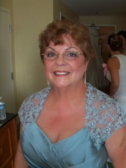 Mother of The Bride. She was so fun to work with and I think our compromised look worked well! (lol)...