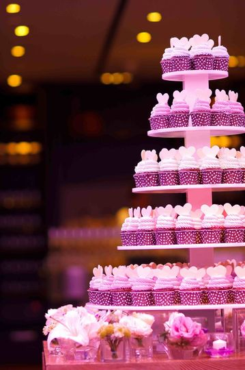 Add cupcakes to your Candi Cafe candy buffet!