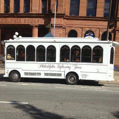 23 passenger classic wedding trolley